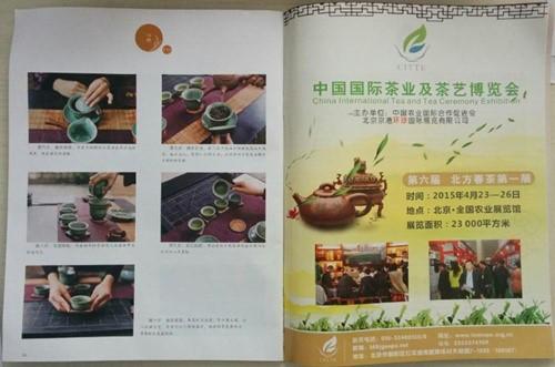 北京茶博会4月17日北京日报新闻